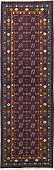 Nain Trading Afghan Akhche Baghlan Rug 84x28 Runner Dark Grey/Dark Brown (Afghanistan, Wool, Hand-Knotted)