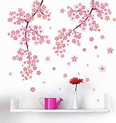 Zoo Papel de Parede Decorativo Galhos com Flores Rosa