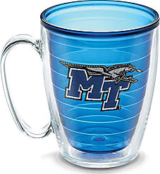 Trevis Tervis 1192205 Middle Tennessee State University Emblem Individual Mug, 16 oz, Sapphire