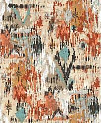 RoomMates Orange Aztec Peel and Stick Wallpaper