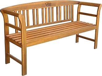 "47.2/"" 59/"" Patio Garden Bench Park Porch Chair Outdoor Furniture 2 or 3-seater"