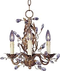 Maxim Lighting Maxim 2855EG Elegante 3-Light Chandelier in Etruscan Gold