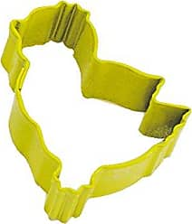 CybrTrayd R&M Chick Durable Cookie Cutter, Mini, Yellow, Bulk Lot of 12