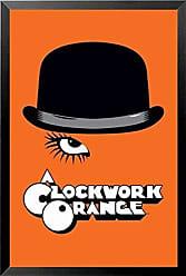Buyartforless Buyartforless Framed Stanley Kubrick - A Clockwork Orange 36x24 Movie Art Print Poster Malcolm McDowell