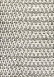Couristan Monaco Collection Avila Rug, Ivory/Sand, 5 by 8-Feet