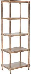 Ashley Furniture Odessa 5-Tier Bookcase, Pine