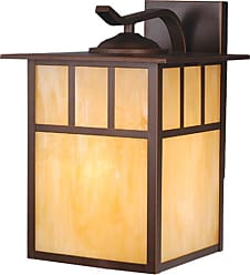 Vaxcel Lighting OW37293 Mission 1 Light Outdoor Wall Sconce - 9 Inches