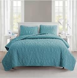 VCNY Home Shore Quilt Set - Blue - Size: Queen