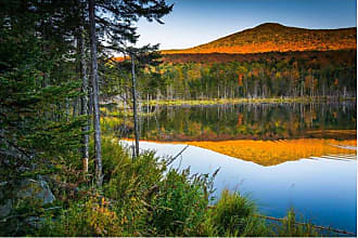 Noir Gallery Pond and White Mountains of New Hampshire Wall Art - FI-01-TW-08