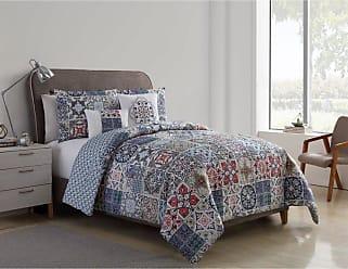 VCNY Tile Reversible Comforter Set by VCNY, Size: King - AZU-5CS-KING-IN-MU