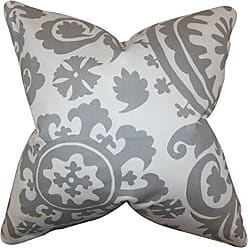 The Pillow Collection Vanelle Geometric Bedding Sham Blue Queen//20 x 30