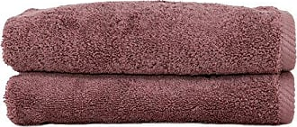 Linum Home Textiles 100% Turkish Cotton Soft Twist Hand Towels, Sugar Plum, 2 Piece