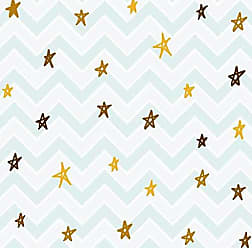 Lar Adesivos Papel de Parede Infantil Estrelas Adesivo Lavável N4167