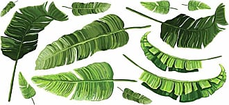 RoomMates Banana Leaf Peel and Stick Giant Wall Decals - RMK4017GM