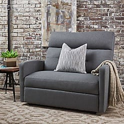 GDF Studio Christopher Knight Home 301302 Hana Recliner, Fabric/Charcoal