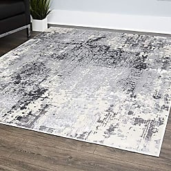 Home Dynamix 529-451 Rainer Vintage Area Rug, 79x102, Gray