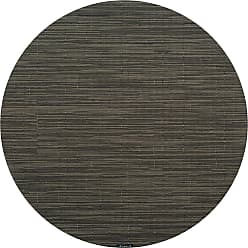 Chilewich Bamboo Round Placemat - Gray Flannel