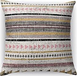 Kavka Designs Triangle Stripe Multicolor Accent Pillow - IDP-DI16-16X16-MIP085