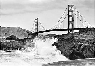 Ideal Decor Golden Gate Bridge Wall Mural - DM967