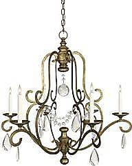 Visual Comfort Piedmont 6-Light Chandelier