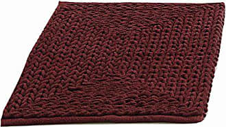 VCNY Home Barron Poly/Cotton Chenille Rug Runner, 17 x 24, Red