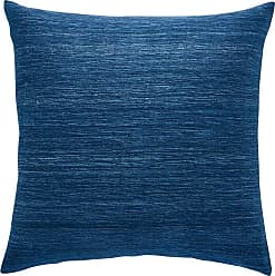 Jaipur Living Rugs Mandarina Solid Striped Indoor Throw Pillow Ensign Blue - PLW103125
