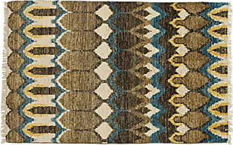 Solo Rugs M1620-331 Ikat Area Rug Hand Knotted Area Rug, 3 10 X 6 0, Brown