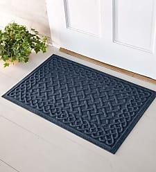 Bungalow Flooring Waterhog Cable Weave Doormat, 3 x 7