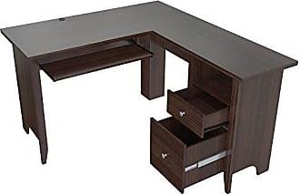 Inval America ET-3815 Desks, Brown