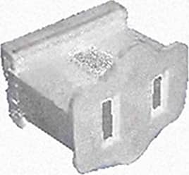 Queens of Christmas WL-PL-FPW White Female Electrical Receptacle (Pack of 50)
