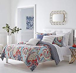 Revman International Trina Turk Mirage Paisley Comforter Set, Twin, Orange