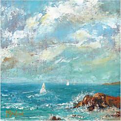 West of the Wind Zamas Point Indoor/Outdoor Canvas Art - 72013-24