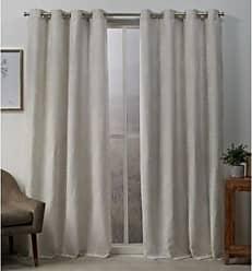 Exclusive Home Curtains Stanton Panel Pair, 54x96, Linen