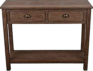 Decor Therapy Wood Console Table, Vintage Distress