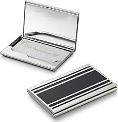 Visol Products Cove Business Card Holder for Ladies, Silver Plated