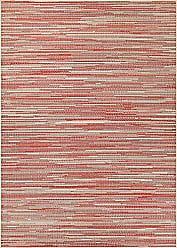 Couristan Monaco Collection Alassio Rug, Sand/Maroon/Salmon, 510 by 92