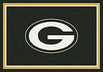 Milliken Carpet Green Bay Packers NFL Team Spirit Area Rug by Milliken, 310 x 54, Multicolored