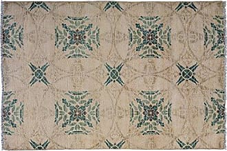 Solo Rugs Eclectic Hand Knotted Area Rug 4 1 x 6 2 Ivory