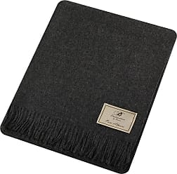Bronte by Moon Natural Alpaca Throw - Charcoal