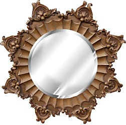 Hickory Manor House 8034AG Medallion Mirror/Antique Gold