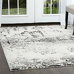 Home Dynamix Boho Makenna Area Rug 20x31, Vintage Abstract Ivory/Gray