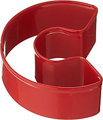 Bulk Lot of 12 3.75-Inch CybrTrayd R/&M Santa Face Durable Cookie Cutter Red