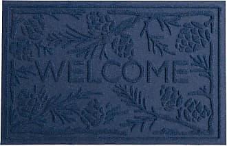 Bungalow Flooring Waterhog Pine Welcome Doormat, 2 x 3