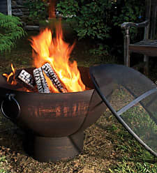 Good Directions Weather-Resistant Large Outdoor Fire Bowl
