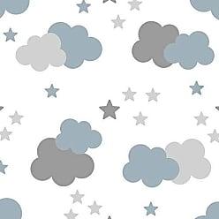 Lar Adesivos Papel De Parede Bebê Infantil Nuvem Chuva Nuvens Teen N4313