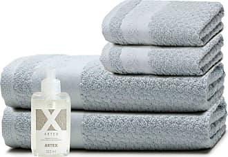 Artex Kit Sabonete Líquido Artex + Toalhas Barra Aveludada Le Bain Lira