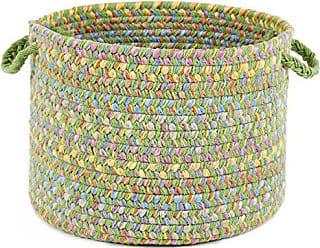 Rhody Rug Sandbox Lime Multi 10 x 8 Basket