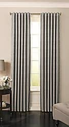 Ellery Homestyles BEAUTYREST Blackout Curtains for Bedroom - Barrou 52 x 108 Insulated Darkening Single Panel Rod Pocket Window Treatment Living Room, Smoke