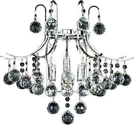 Elegant Furniture & Lighting Elegant Lighting Toureg 8000 Wall Sconce Swarovski Strass/Elements Crystals - V8000W16C/SS