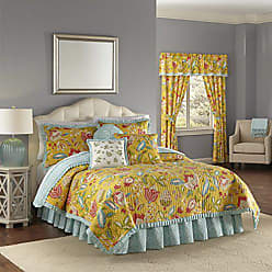Ellery Homestyles WAVERLY Modern Poetic Quilt Collection, King, Sunshine